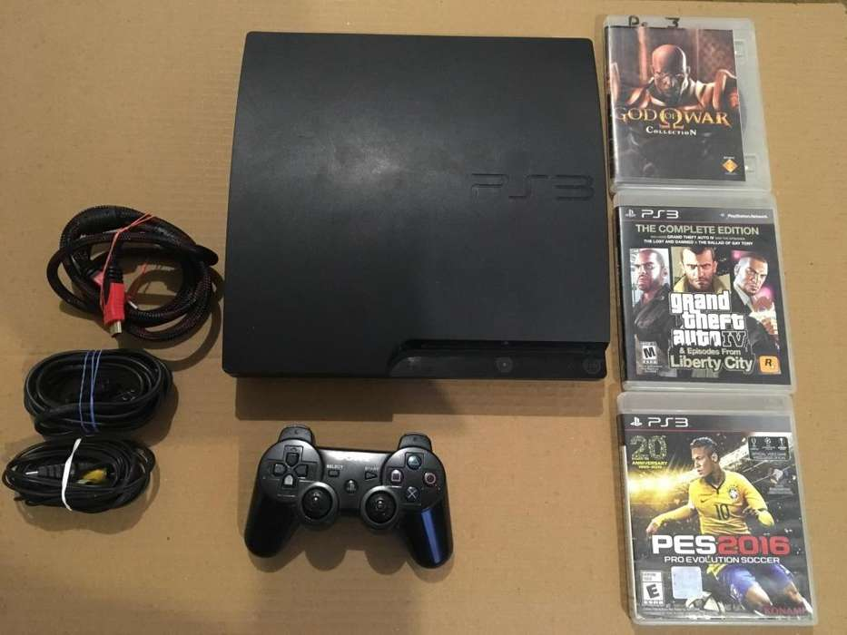 VENDO O CAMBIO PS3 SLIM 150GB PERFECTO ESTADO 3 JUEGOS Y 1 MANDO POCO NEGOCIABLE