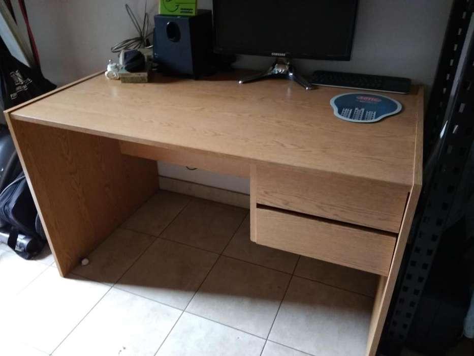 <strong>escritorio</strong> Pc 2 Cajones 120x72cm