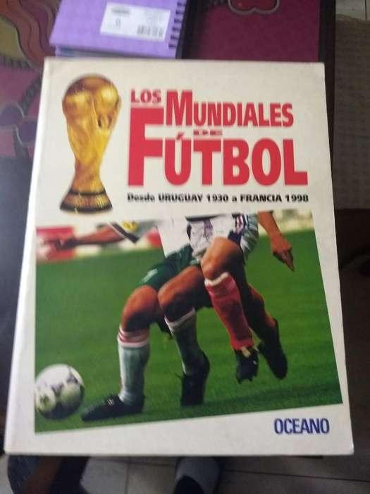 Libro Futbol , Los Mundiales Oceano