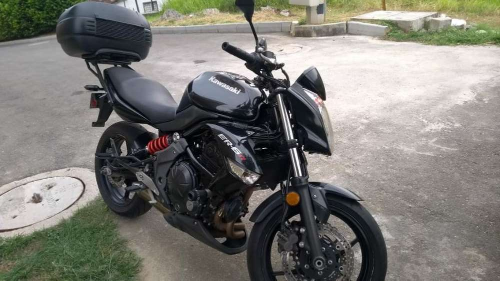 Moto <strong>kawasaki</strong> Er6n