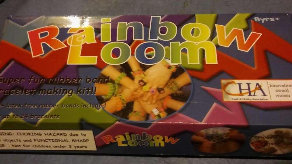 Gomitas elasticas para hacer pulseras - Rainbow Loom