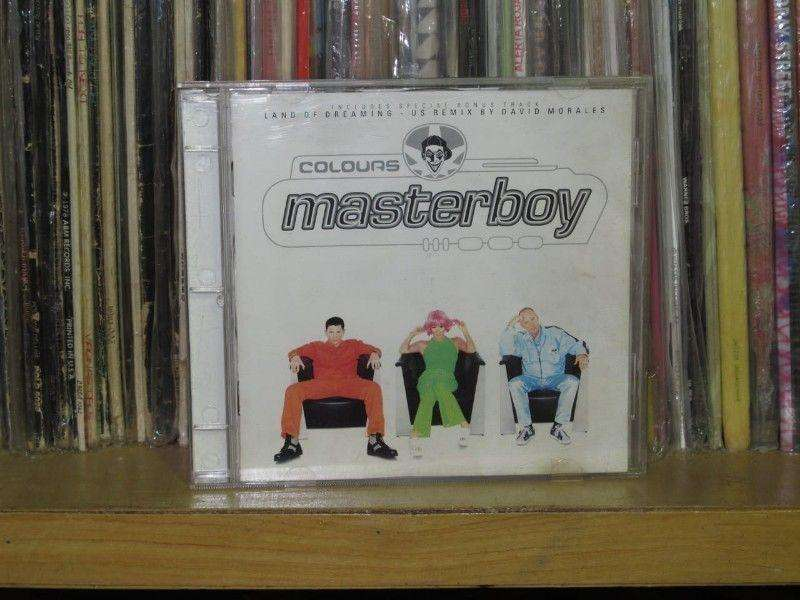 Masterboy - Colours  Cd Eu