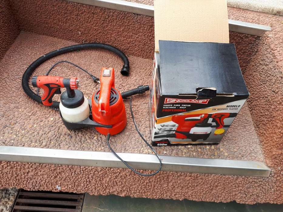 Pistola De Pintar Sincrolamp Spray Gun Profesional 650w