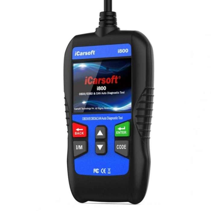 scanner automotriz OBD2 universal icarsoft i8000 español