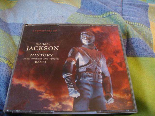 HISTORY MICHAEL JACKSON, DOBLE CD ORIGINAL