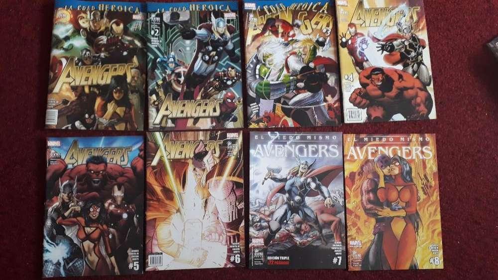 Lote Comics Vengadores