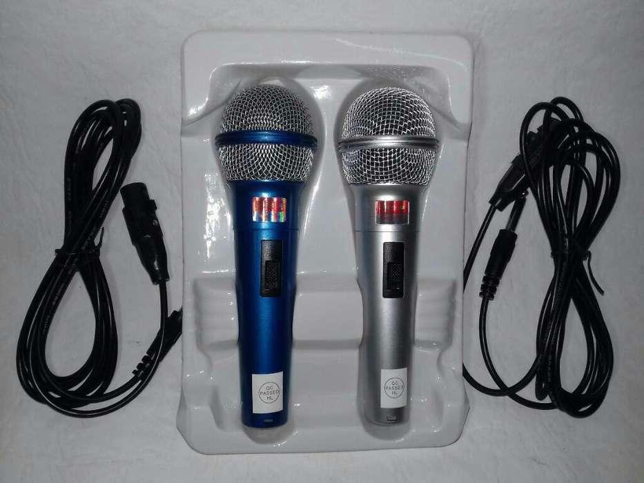 Kit Microfono <strong>karaoke</strong> X Dos Unidades
