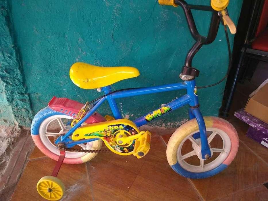Vendo Bici de Nene Rodado 12