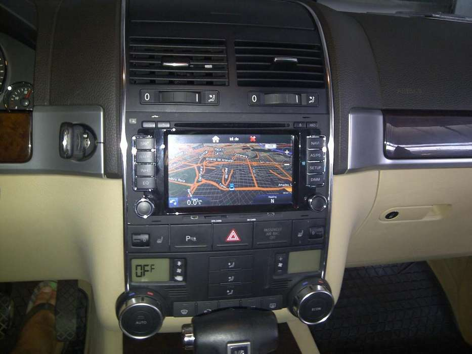 VW VOLKSWAGEN TOUAREG ESTEREO CENTRAL MULTIMEDIA STEREO CON ANDROID, GPS, BLUETOOTH