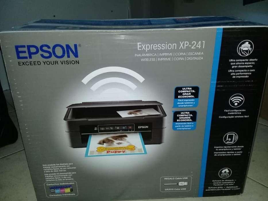 Impresora Multifuncional Xp 241 Inalambr