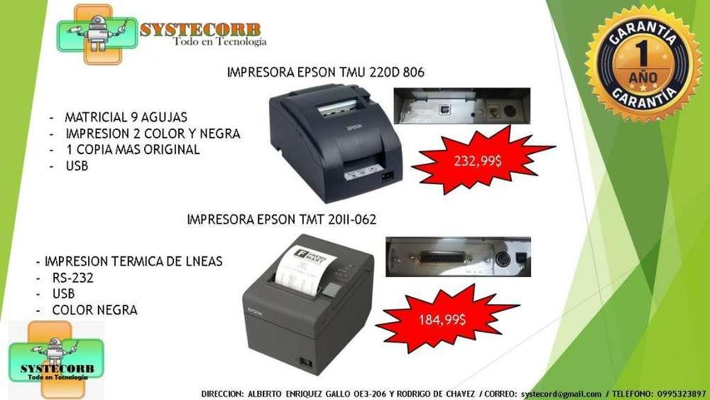 <strong>impresora</strong> Epson Tmt 20ii-062