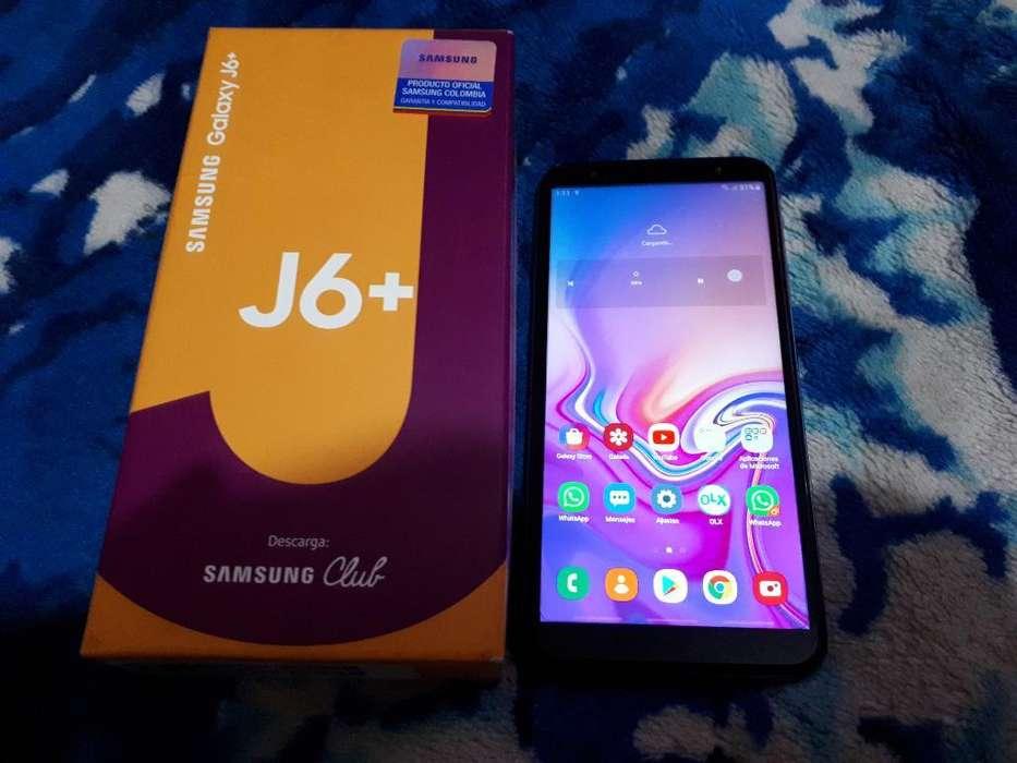 Vendo O Cambio Samsung J6 Plus Nuevo Dua