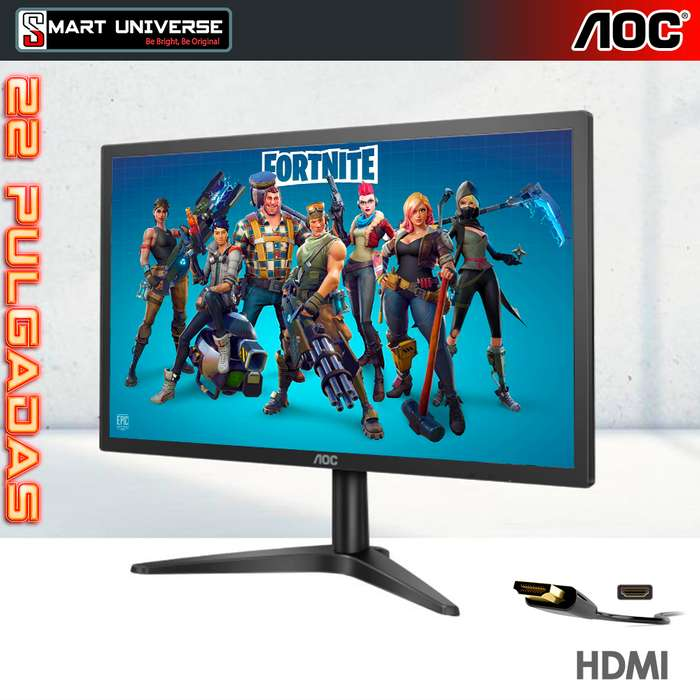 Monitor LED Aoc 22b1h 22 Pulg Vga Hdmi Full Hd Blue Light