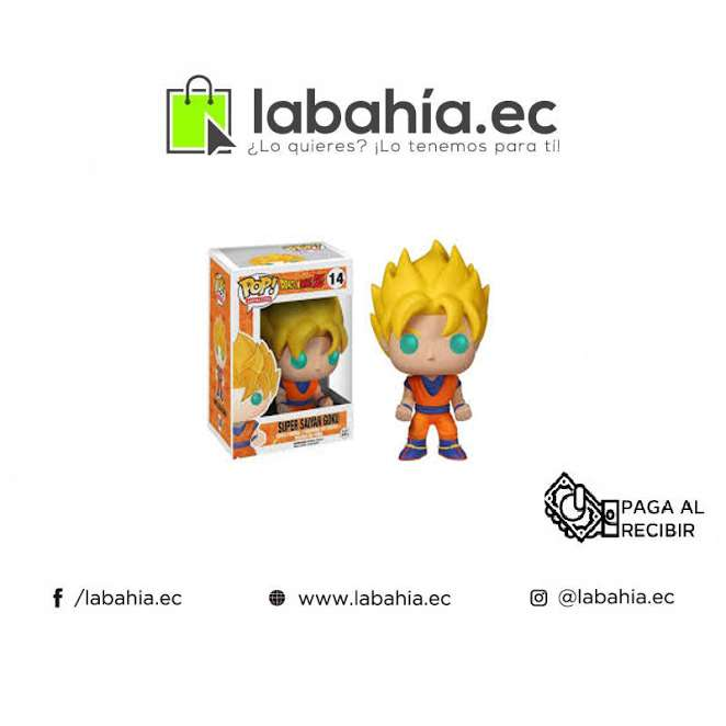 Muñeco Coleccionable Funko Pop Goku Super Sayayin