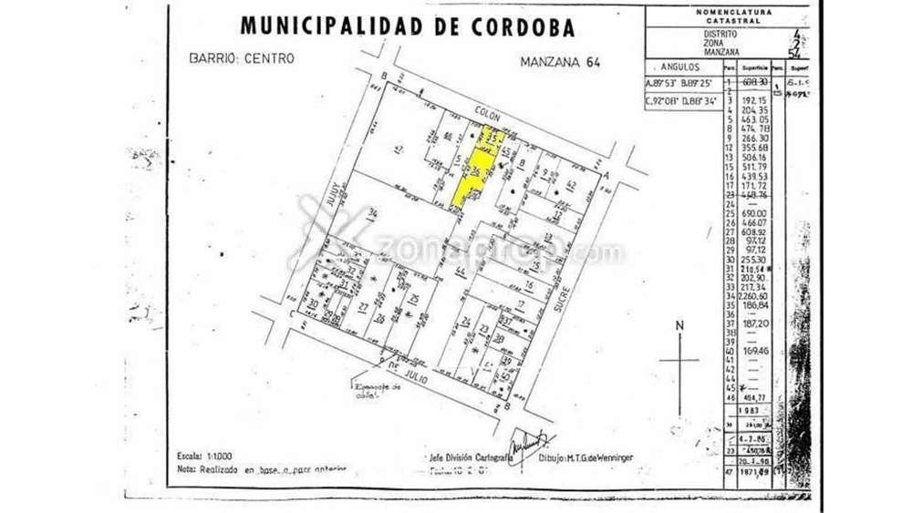 Colón 400 - UD 1.700.000 - Terreno en Venta