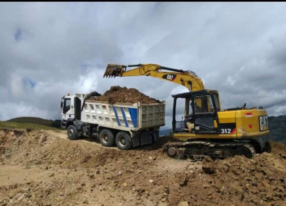 Excavadora 312