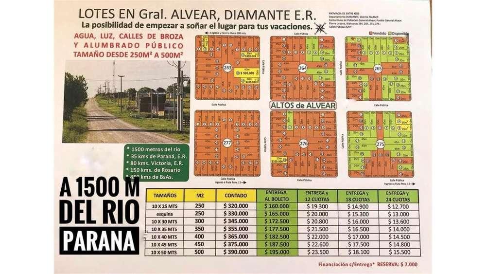 Lotes En Puerto Alvear! Loteo Altos De Alvear! 100 - 320.000 - Terreno en Venta