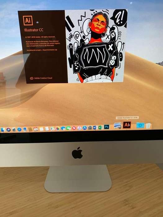 iMac 21.5 LATE 2015 CORE i5 512GB SSD 8GB 1867MHZ 1.5GB VIDEO CASI Nuevo 10/10