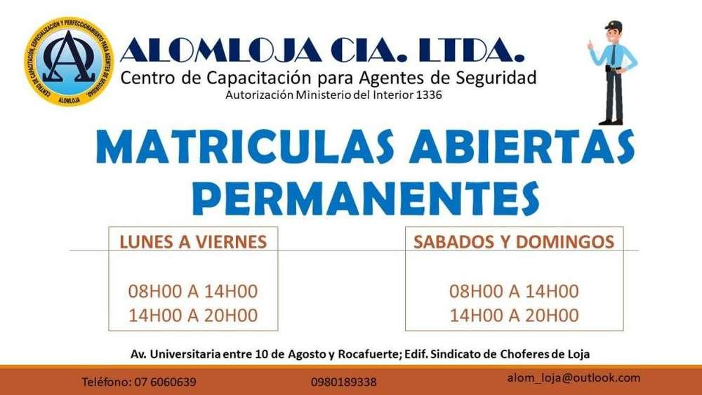 CENTRO DE CAPACITACIÓN PARA AGENTES DE SEGURIDAD