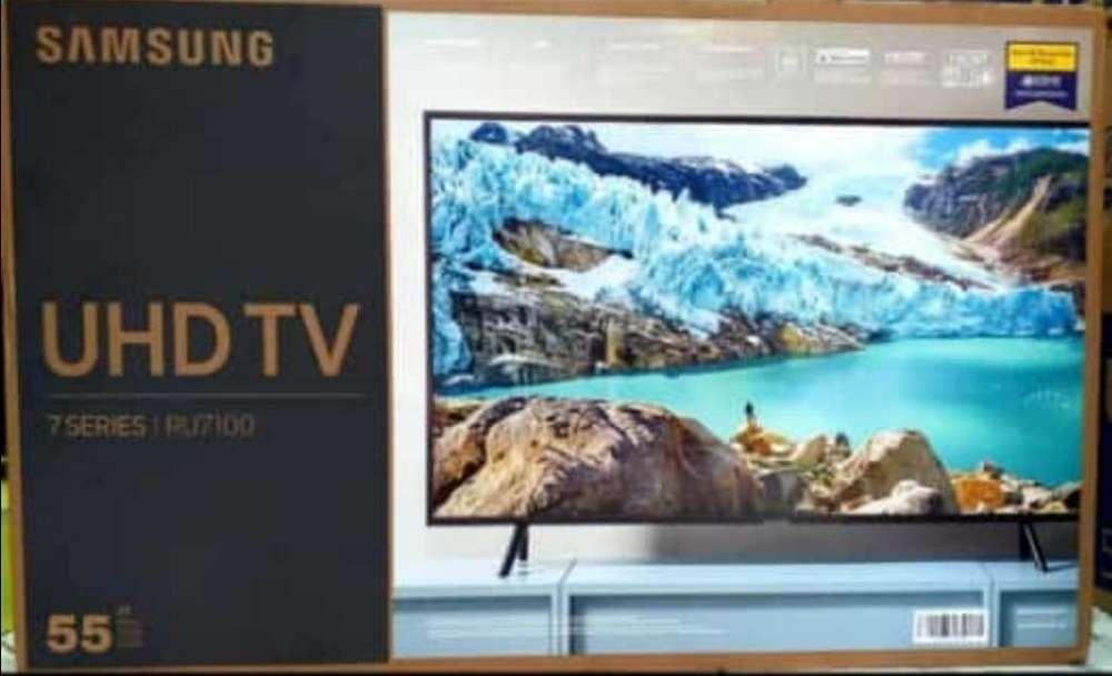 Samsung Smart 55 4k Ru7100 2019 Bluetoot