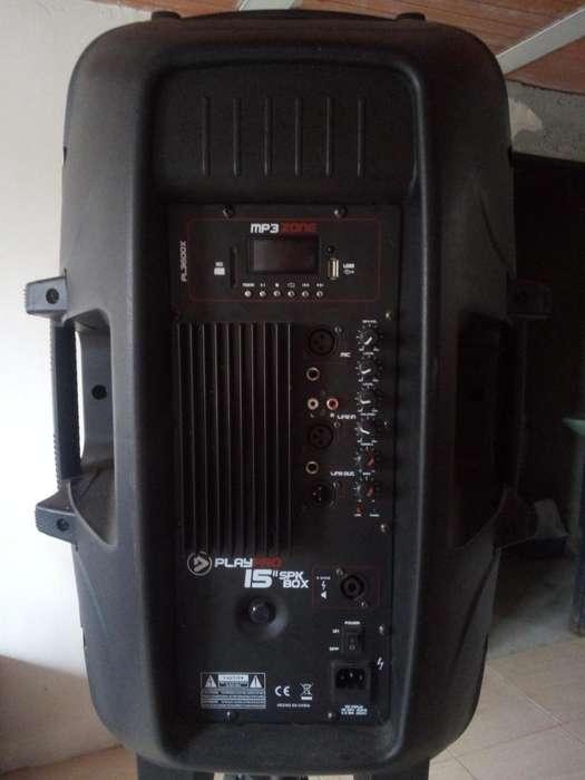 cabina mp3 potente sonido