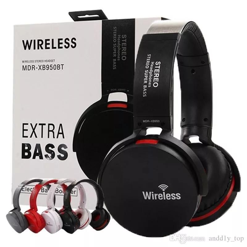 Audifono Diadema Bluetooth Pantalla Led Radio Sd Extra Bajo