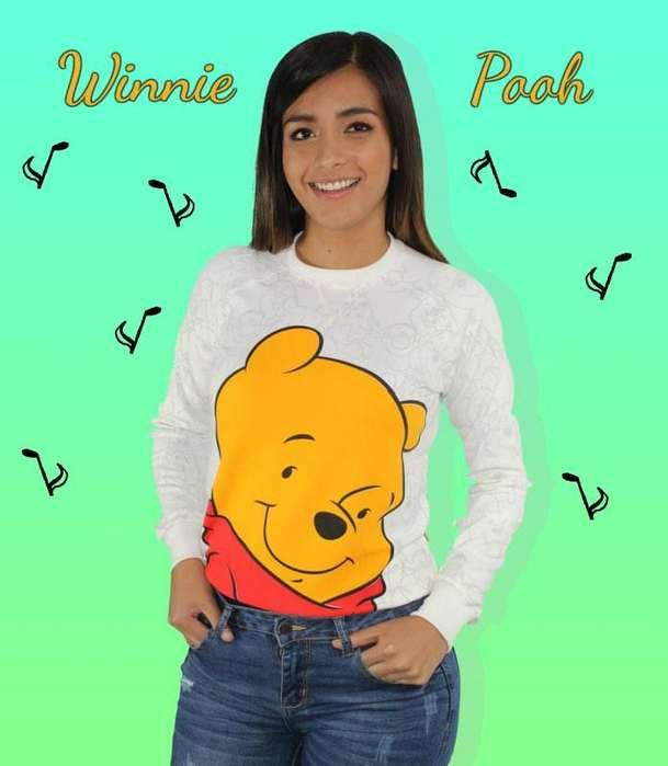 Buzo deportivo Winnie Pooh