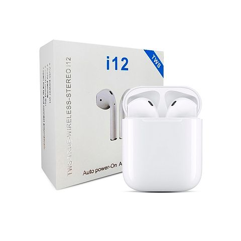 Audífonos Inalámbricos I12 Tws Tipo AirPods Táctil Bluetooth