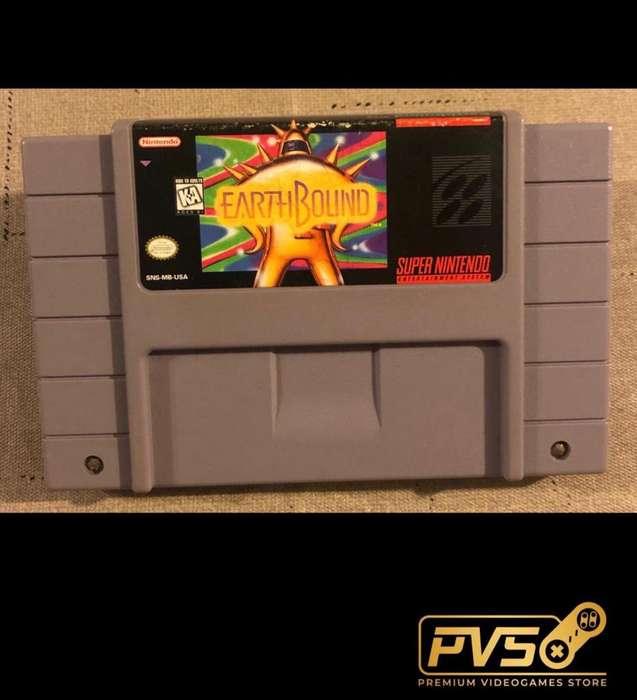 Earthbound para SNES (Super Nintendo)