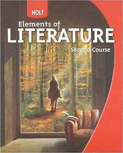 Libro Holt Elements Of Literature