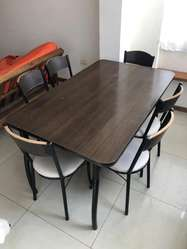 Mesa y 6 sillas