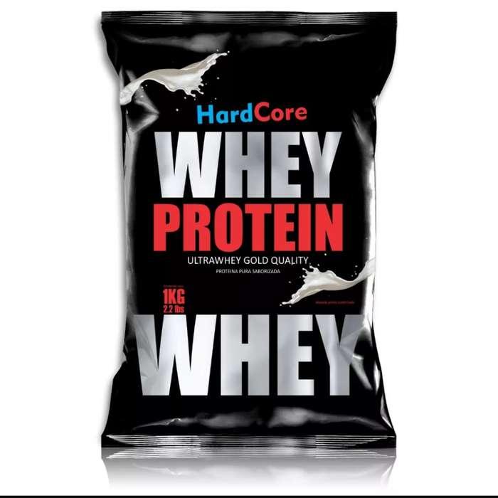 Proteina whey Hardcore 1kl precio promocional