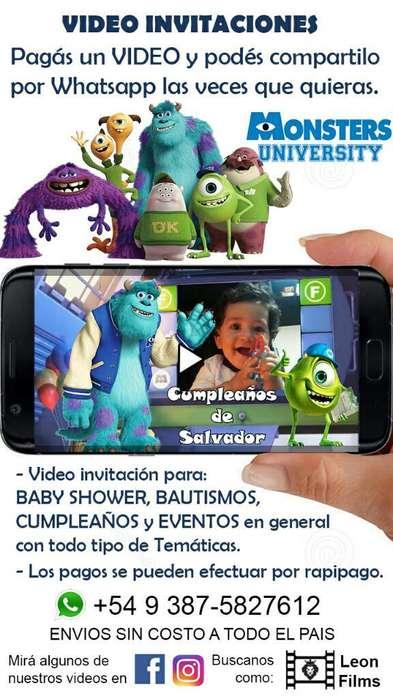 Video Invitacion Digital Virtual