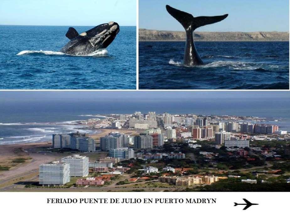 PUERTO MADRYN / FERIADO PUENTE DE JULIO 2019