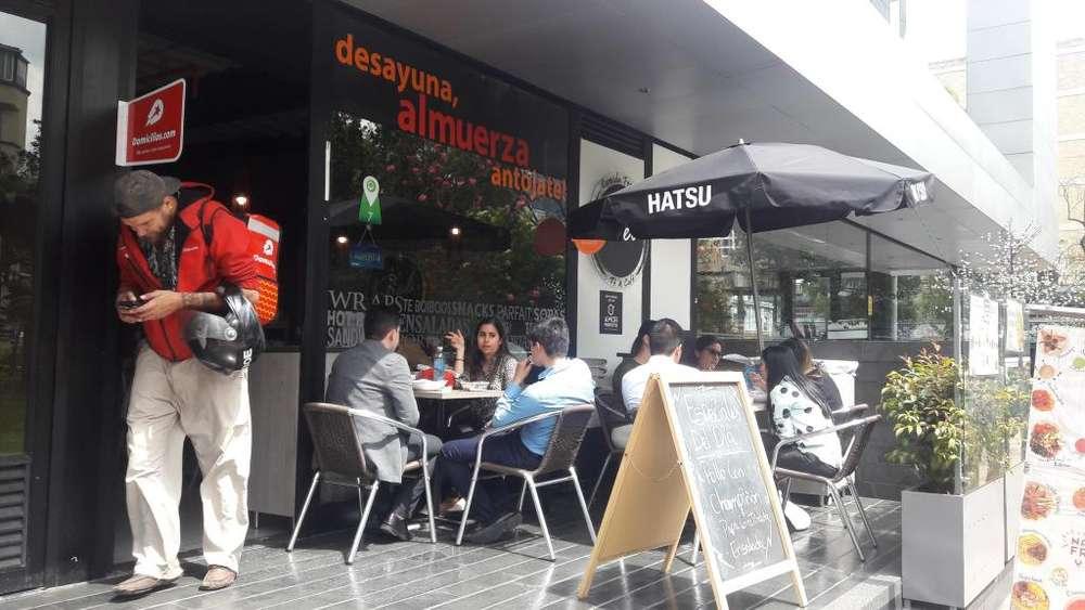 OPORTUNIDAD- Vendo Restaurante barrio Chicó