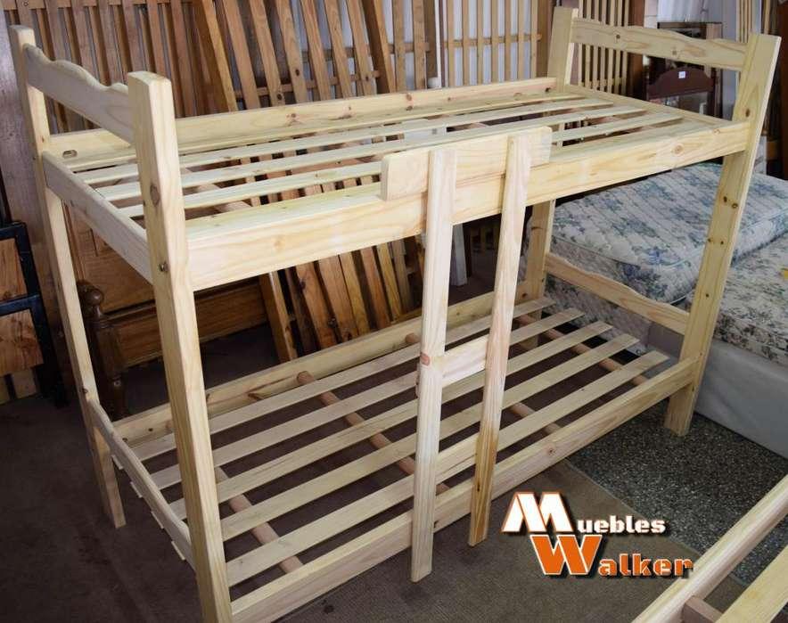 <strong>camas</strong> cuchetas de pino macizo y saligna