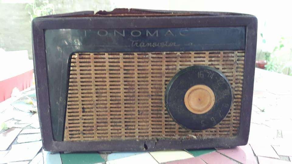 Radio Tonomac Vintage el 1º Modelo A Transitores Del País 1.000