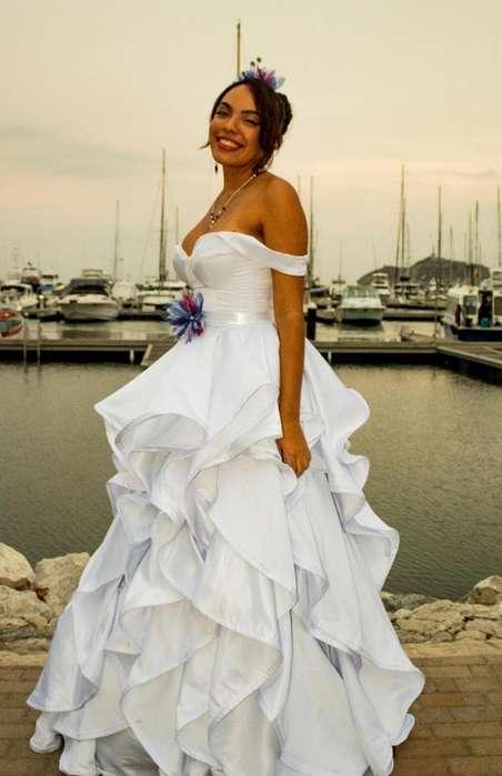 Alquiler de vestidos de novia nuevos en bogota