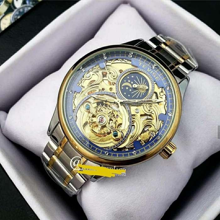 Reloj Tevise Original Automatico