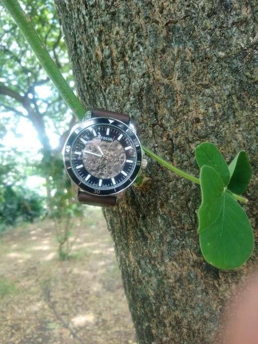 Reloj Hombre Casual Fossil Cuero Cool DTEMPORADA