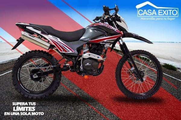 Moto Daytona Shark II Dy250 250cc Año 2019 Color Rojo / Negro Casa Éxito