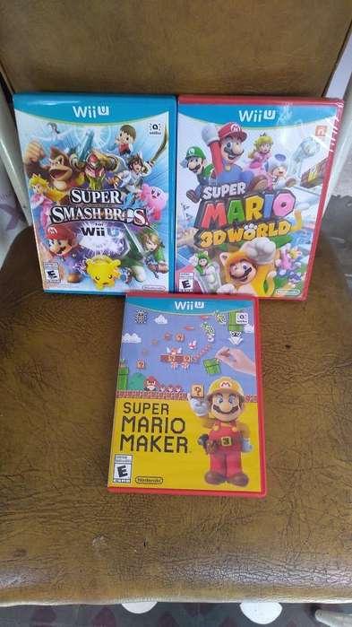 Juegos Nintendo Wii U Americanos