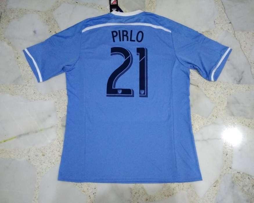 camiseta Pirlo, New York City 2015/16, nueva, acepto cambios