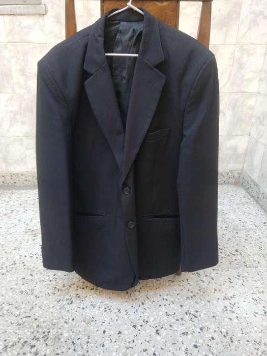 <strong>traje</strong> Negro Saco Y Pantalon Talle L 48 Edmonds