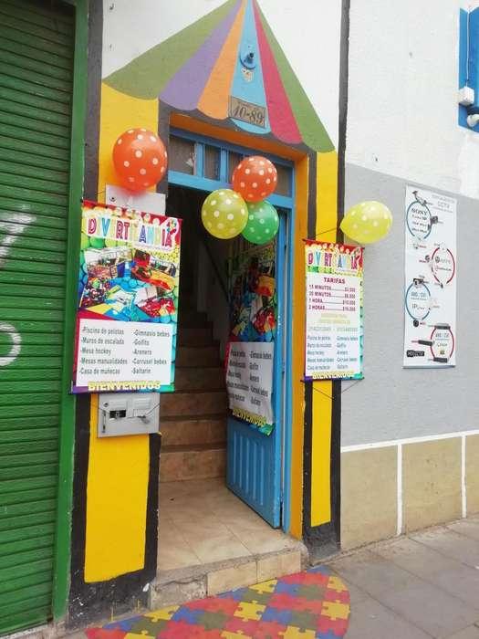 se vende <strong>negocio</strong> salon de juegos y fiestas infantiles en Funza