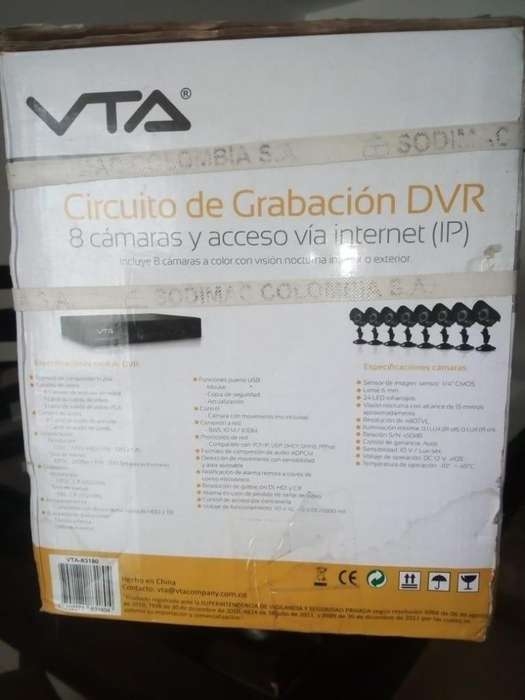 CAMARAS VTA IP - INFLARROJAS