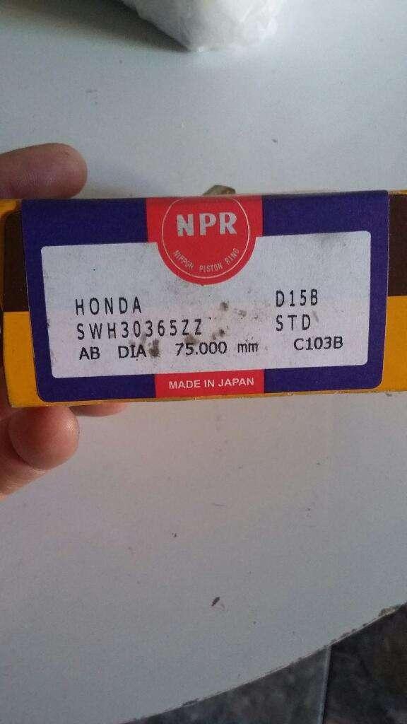 Aros Npr 75mm Std.honda Civic D16z6