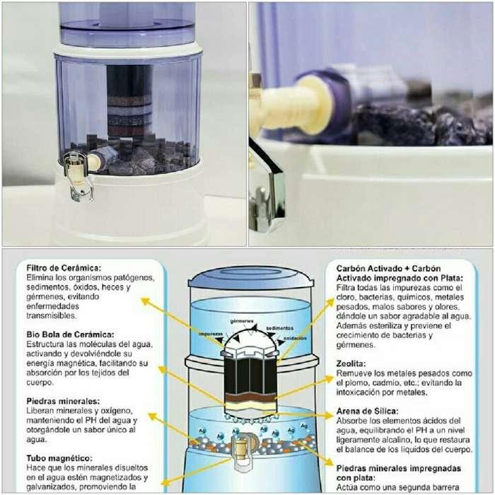 Vendo Filtro de Agua de 12lt Saqua