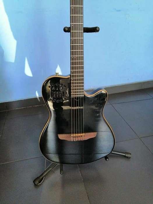 <strong>guitarra</strong> Godin Multiac