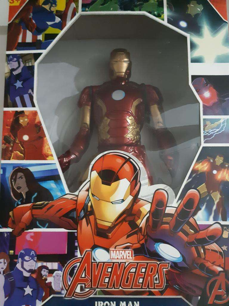 Muñeco Iron Man Avengers Gigante